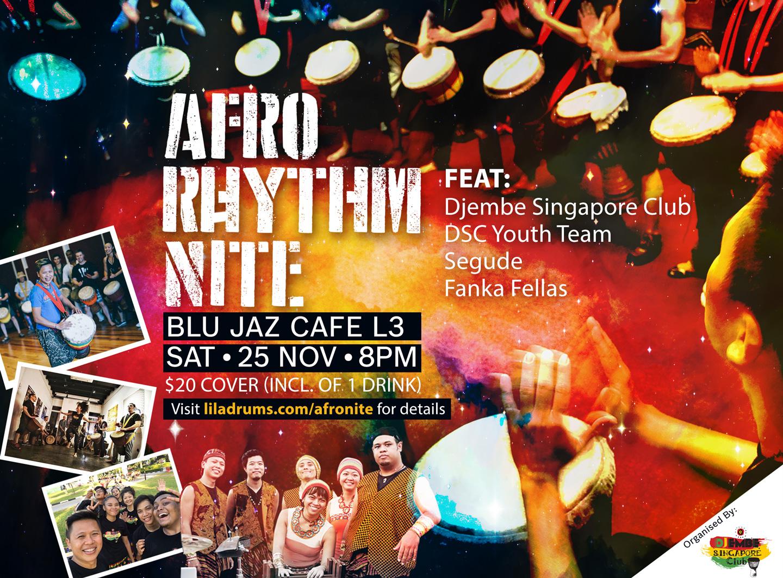 Afro Rhythm Nite