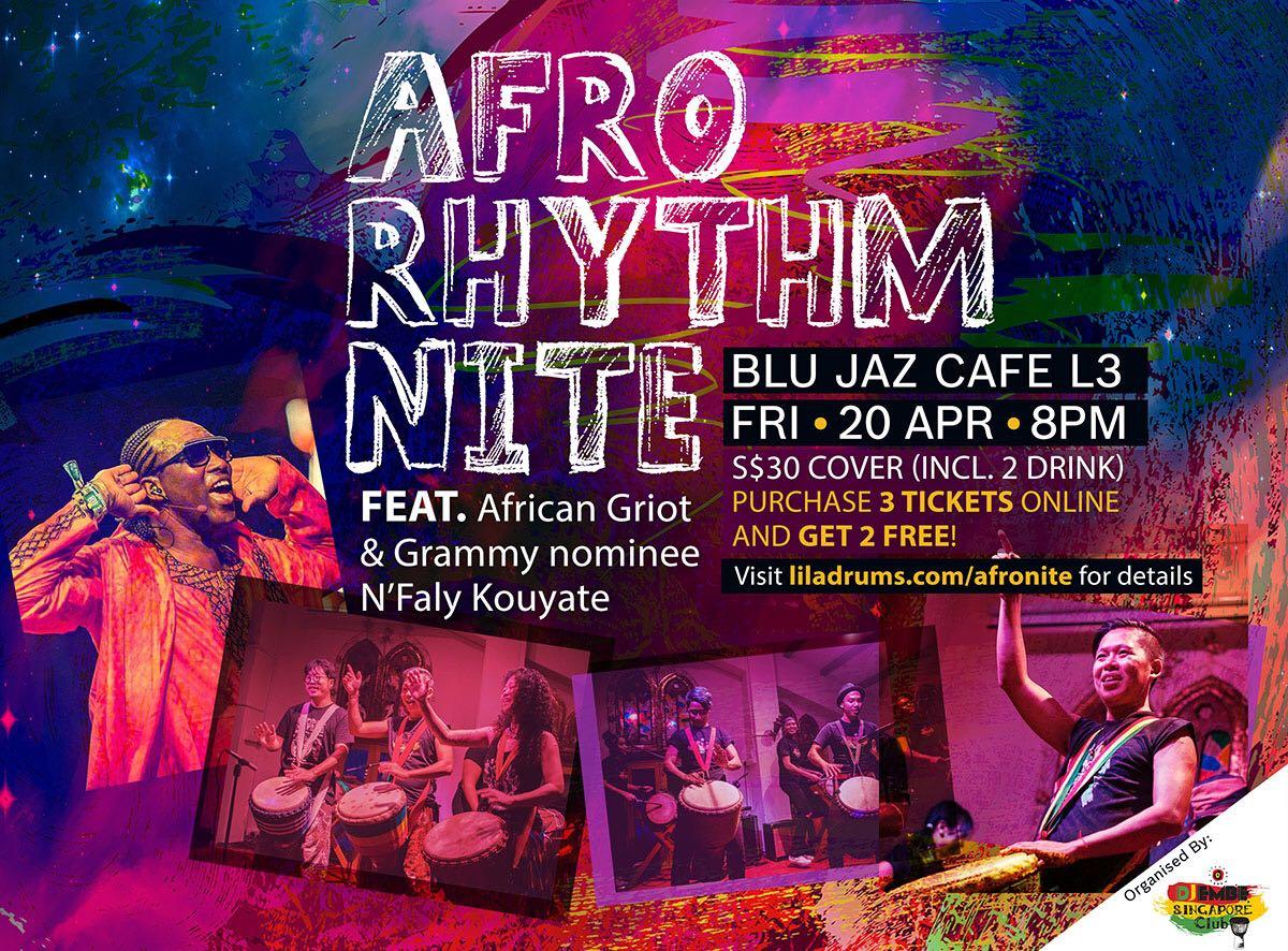 Afro Rhythm Nite Feat. N'Faly Kouyaté
